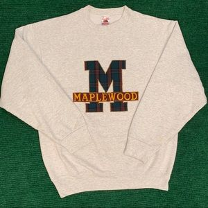 Vintage 90s Maplewood sweatshirt made in USA